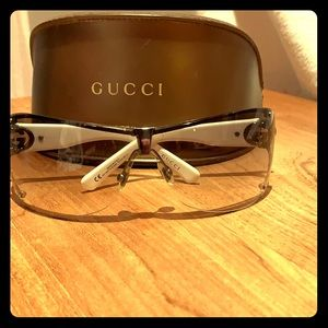 Gucci White Sunglasses